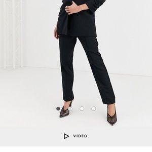 ASOS Design Black Tailored suit pants